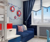 nautical themed toddler room