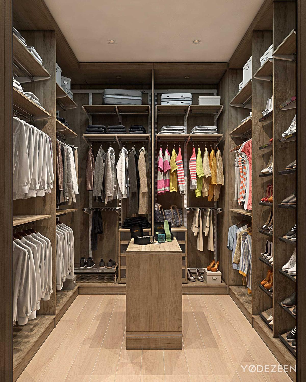 walkincloset  Interior Design Ideas