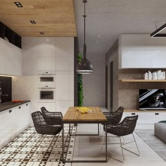 Shelving Ideas For Living Room Walls Blue And Brown Decorating Two Sleek Apartments With Interior Glass