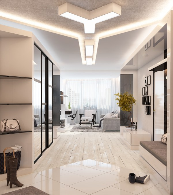 4 Beautiful Homes With White Theme