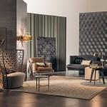 Eclectic Living Room Walls Interior Design Ideas
