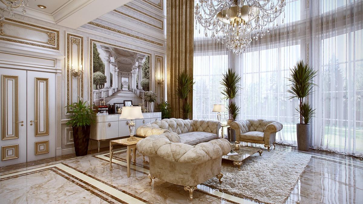 louis xvi interior  Interior Design Ideas