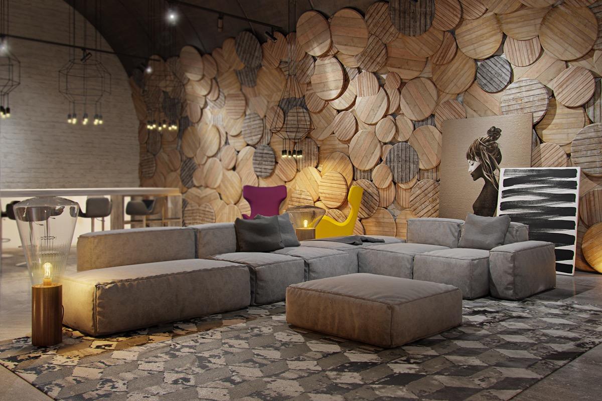 Rustic Wall Decor Interior Design Ideas
