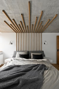 wood-headboard   Interior Design Ideas.