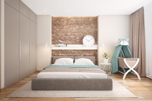 brick headboard ideas