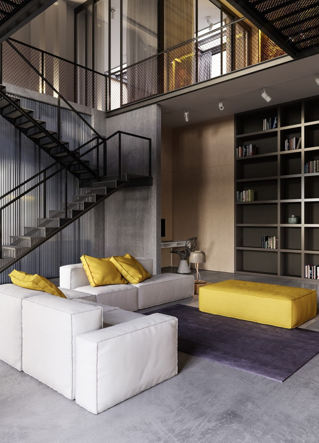 Loft Interior Design Ideas