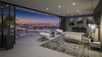 luxury bedroom with amazing view | Interior Design Ideas.