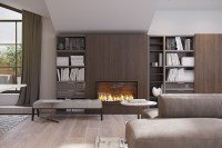 modern fireplace ideas | Interior Design Ideas.