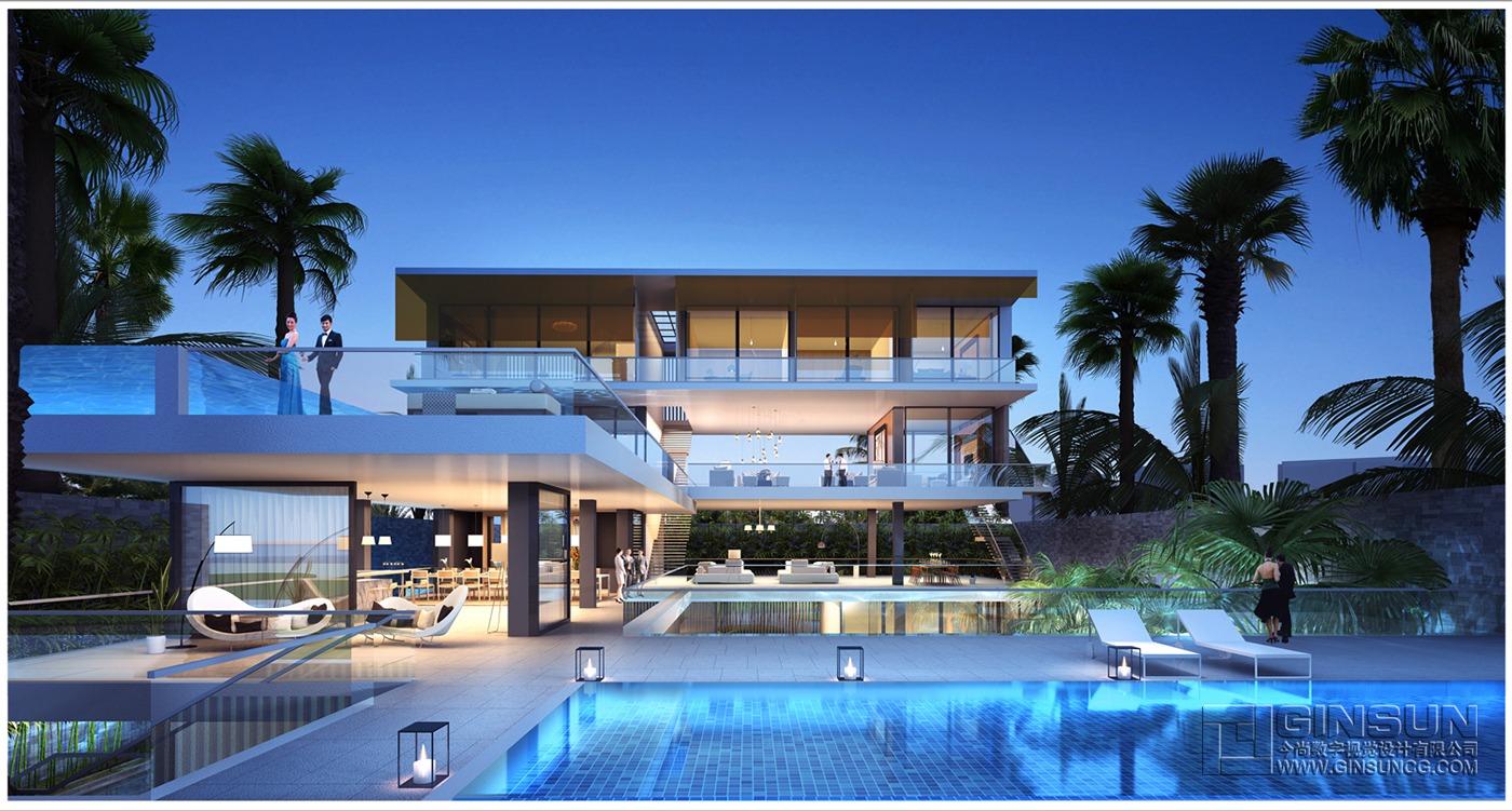 modern resort  Interior Design Ideas
