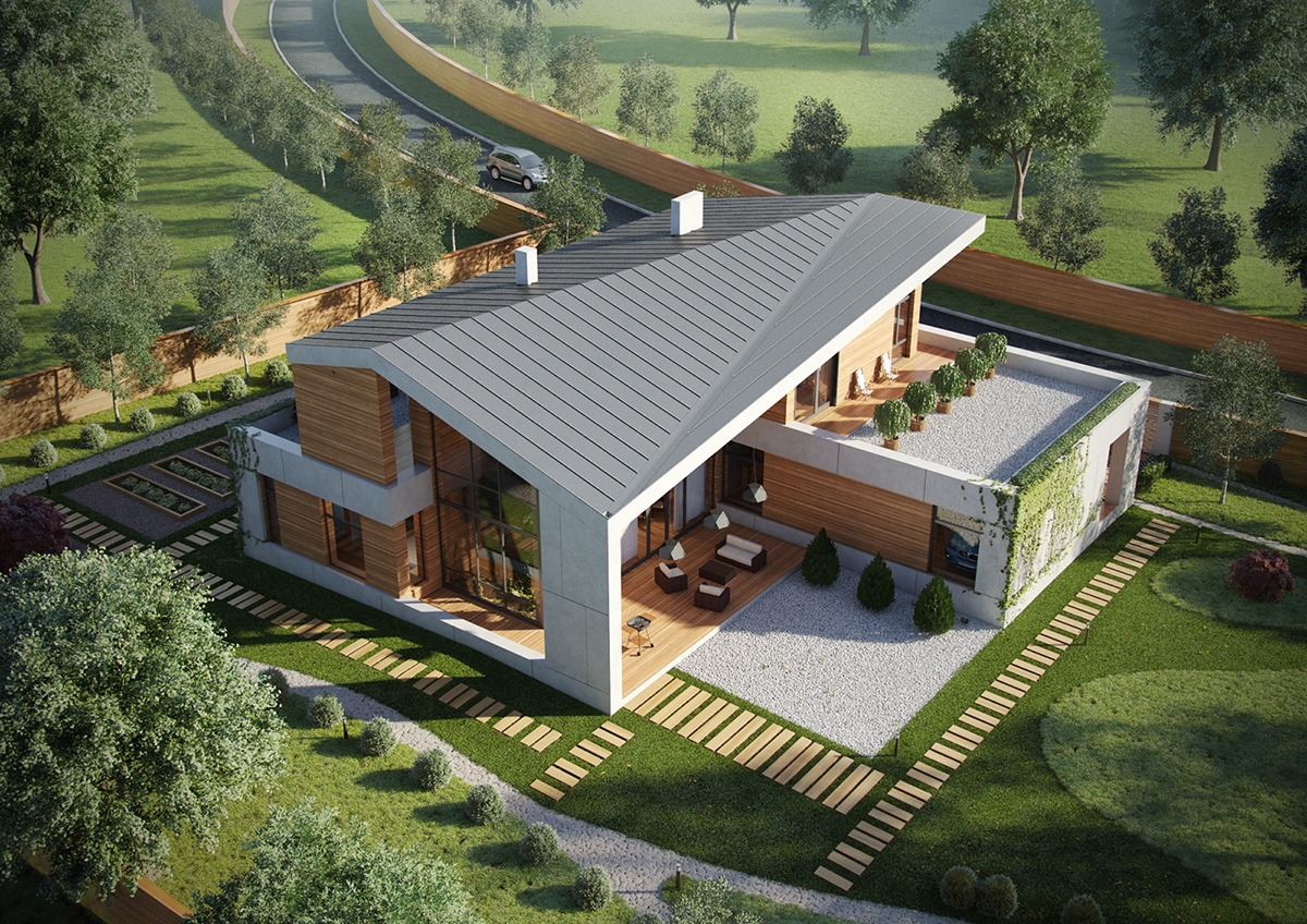 Modern Rustic House Plans