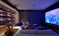 modern theatre room | Interior Design Ideas.