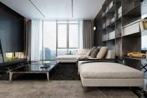 Modern Apartment Interior Design Dark