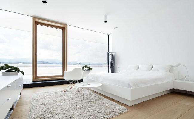 Pure White Bedroom Interior Design Ideas