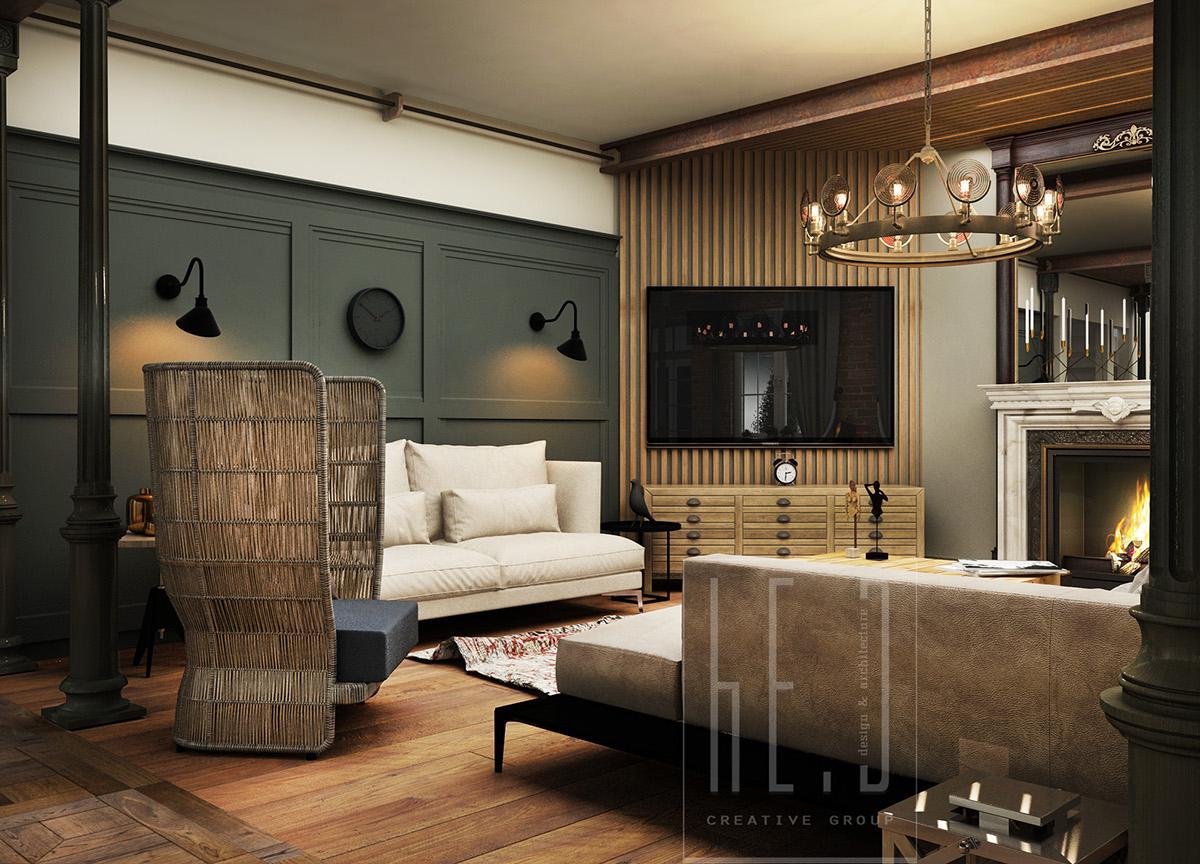 vintage interior design  Interior Design Ideas