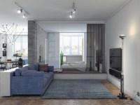 1240 930, Blue And Gray Living Room Jpg, Decor  , A Hi ...