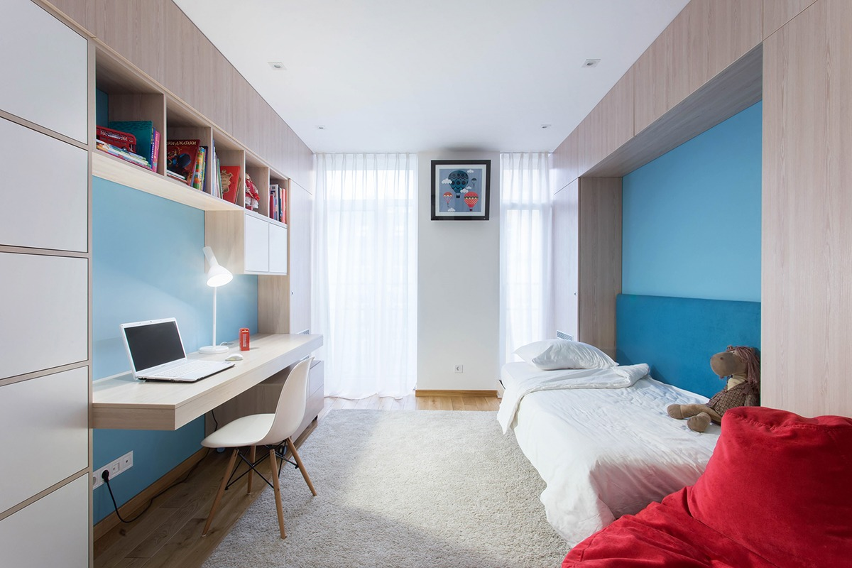 Two Modern Homes With Rooms For Small Children With Floor