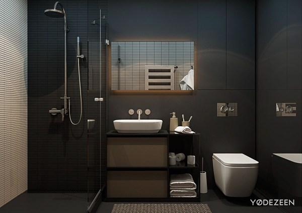 interior designer bathrooms 5 Small Studio Apartments With Beautiful Design