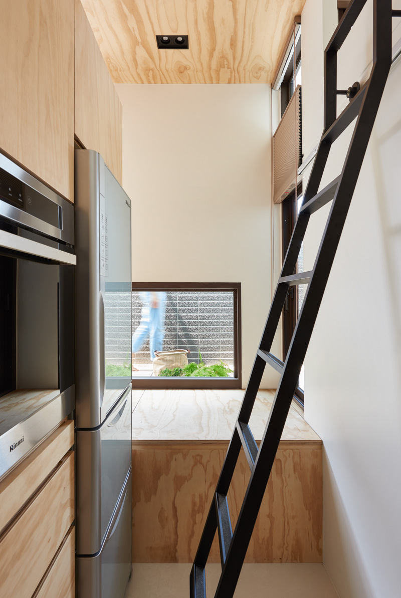 An Incredibly Compact House Under 40 Square Meters That