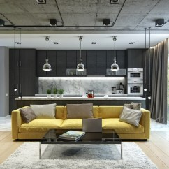 Designing Small Apartment Living Rooms Modern Room Decorating Ideas Australia 3 Inspiring Homes With Concrete Ceilings And Wood Floors