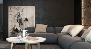 living rooms designs decor interior furniture decoration apartment inspiration sitting gold dark inspiring idea dubai contemporary elephant couches sofa focal