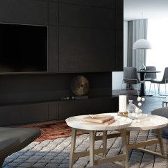 Modern Black Living Room Egyptian Decorating Ideas Rooms Inspiration