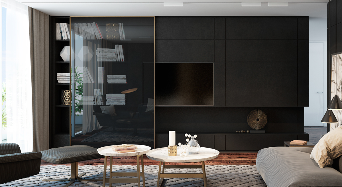 black rooms ideas
