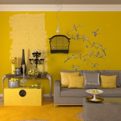 Living Room Decor Gray And Yellow Sofa Set Designs For Small Philippines 25 Gorgeous Accent Rooms