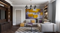 2 Beautiful Home Interiors In Art Deco Style