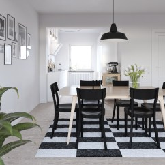 Black Dining Room Chair Hickory Sideboard 32 More Stunning Scandinavian Rooms