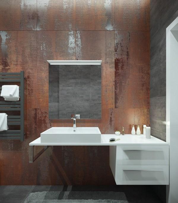 Industrial Modern Bathroom Ideas