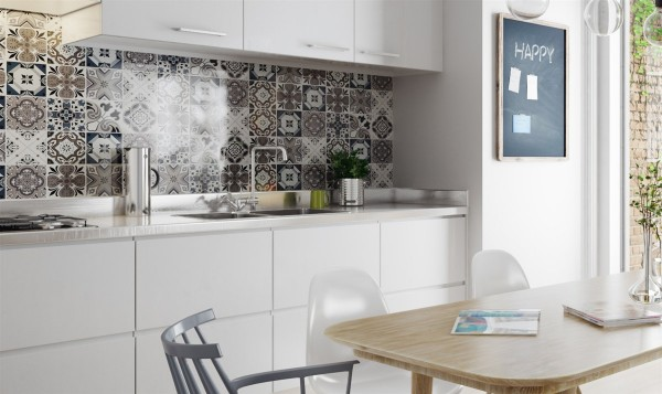 scandinavian kitchen tile designs 10 Stunning Apartments That Show Off The Beauty Of Nordic Interior Design