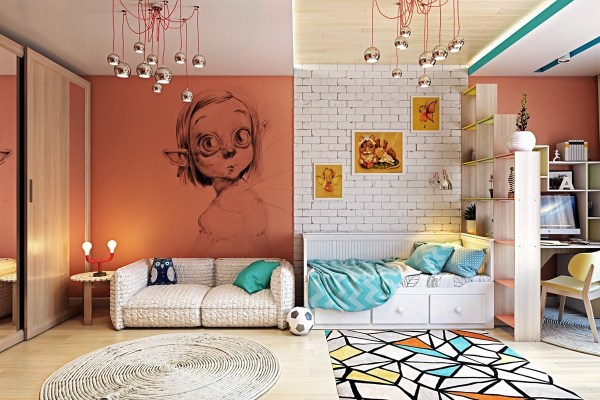 Idea Room Wall Mural for Kids