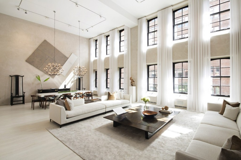Two Sophisticated Luxury Apartments In NY Includes Floor