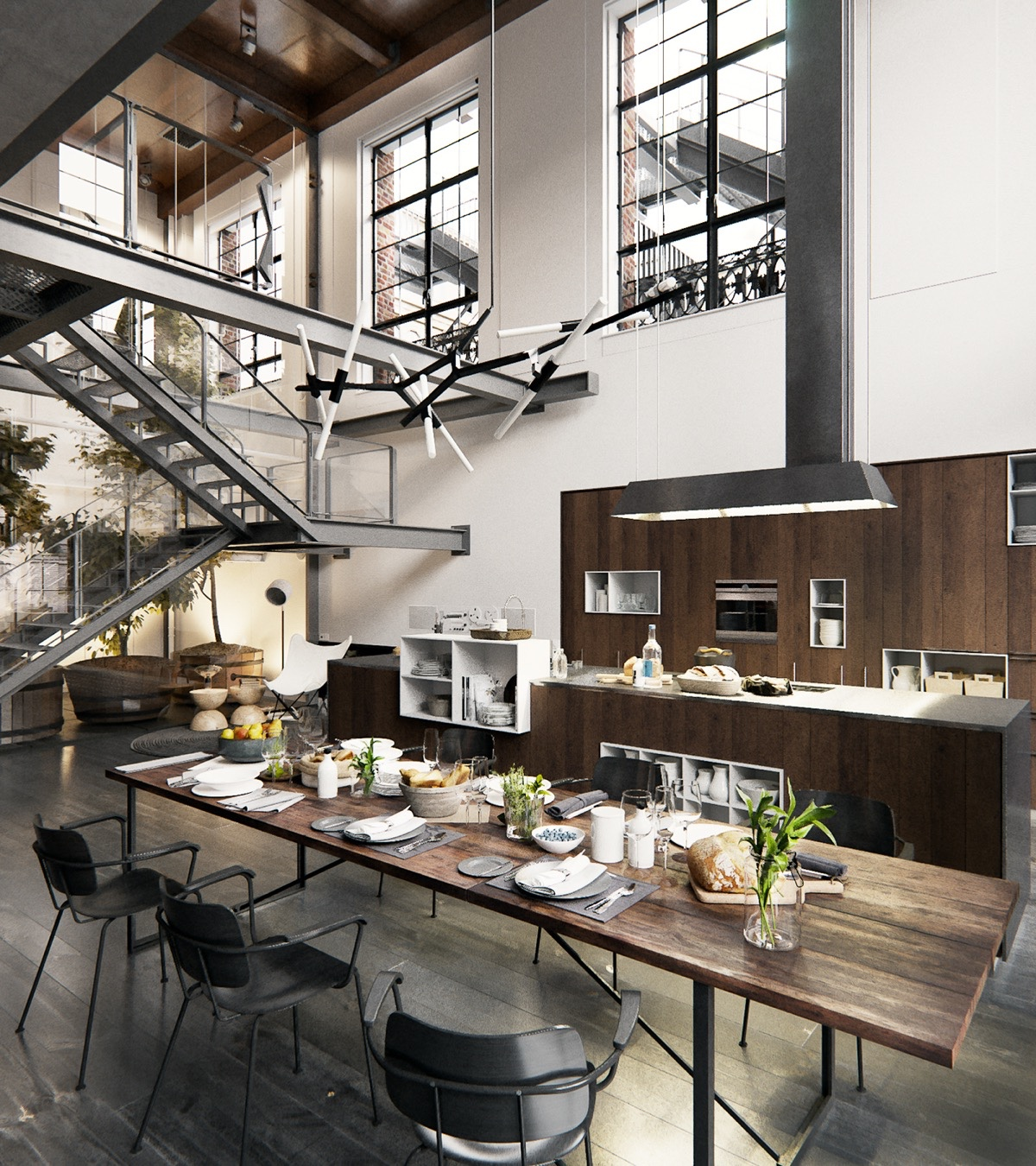 New York Loft Kitchen Design