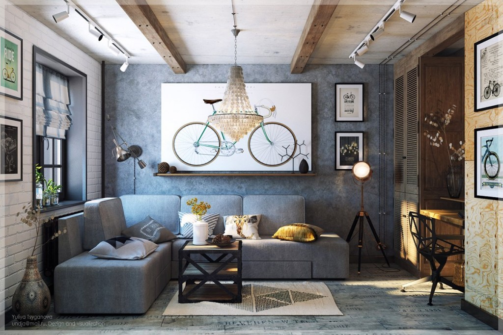 3 Chic Modern  Eclectic Spaces