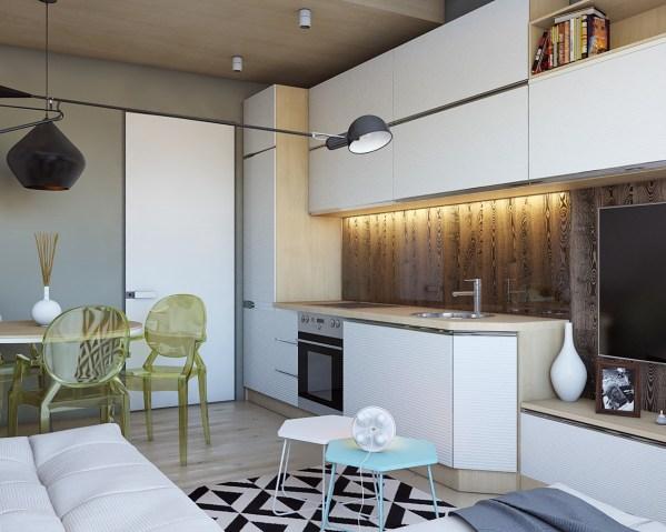 Eclectic Kitchen Interior Design