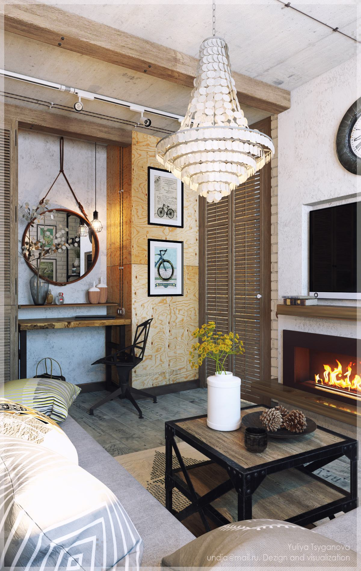 3 Chic Modern & Eclectic Spaces