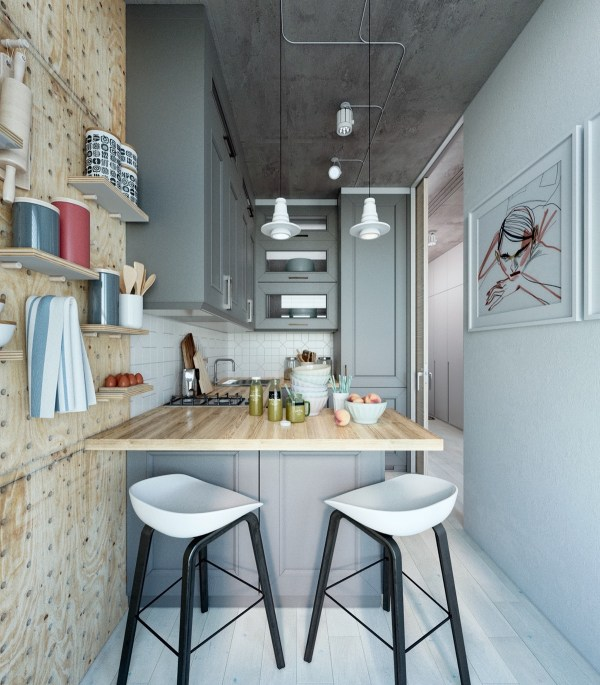 Two Takes Super-small Apartment