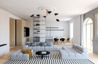 Modern Decor Meets Classical Features in Two Transitional ...