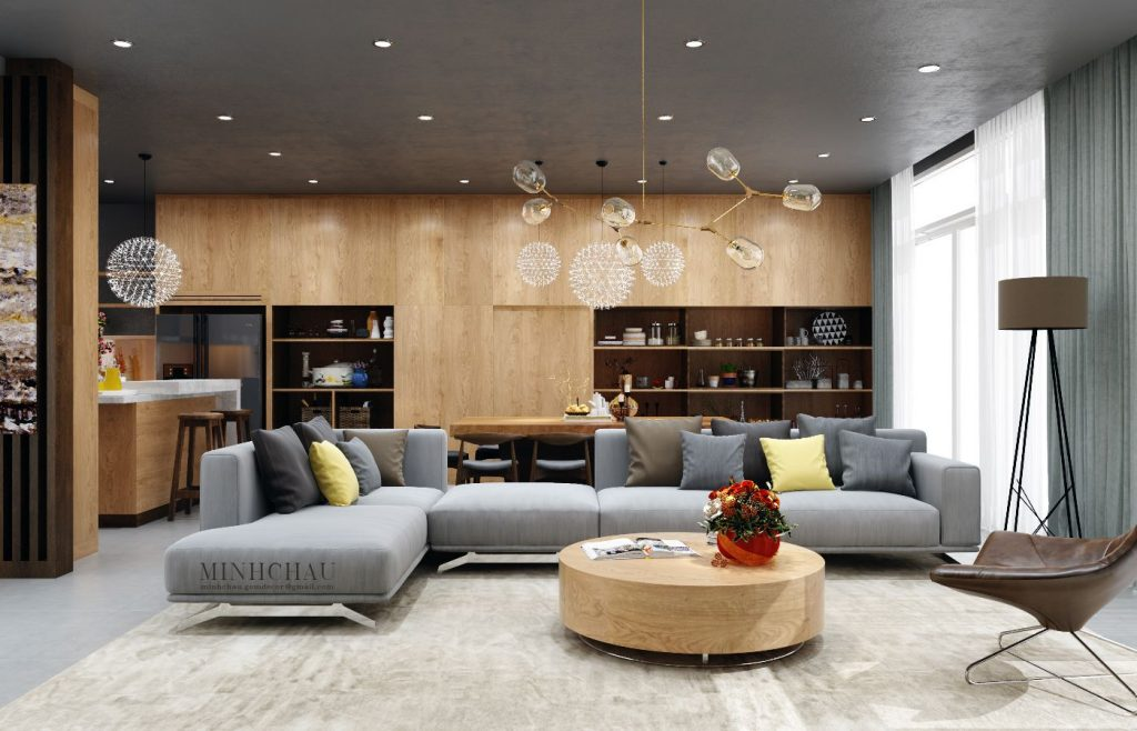 nice artwork living room brown curtains color combo inspiration: wood interiors with grey accents