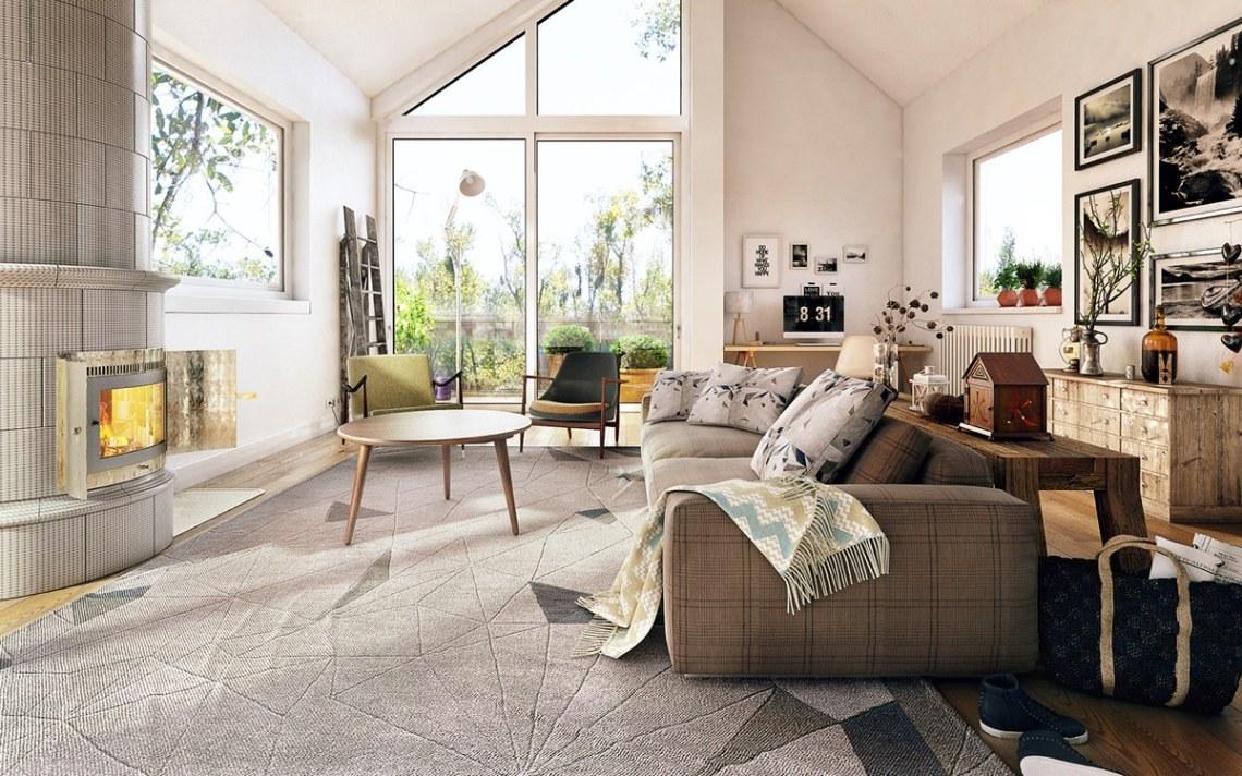 Bright Homes In Three Styles: Pop Art, Scandinavian, And ...