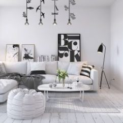 Small 1 Bedroom Living Room Ideas Holder Interior Design Nordic Inspiration With Geometric Decor