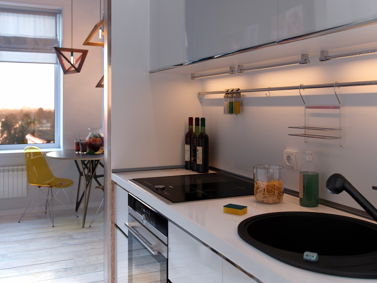 cute kitchen gadgets whirlpool appliances bold decor in small spaces 3 homes under 50 square meters