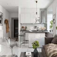 Living Room Small Apartment Design Ideas For Rooms Modern Bright Scandinavian Decor In 3 One Bedroom Apartments