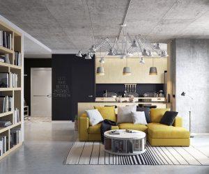 how to decorate large living room windows false ceiling design 2016 loft | interior ideas