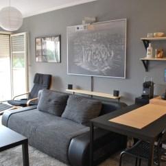 White Leather Wood Sofa Black Rattan Corner Set 4 Single Studio Apartment Designs Under 100 Square Metres