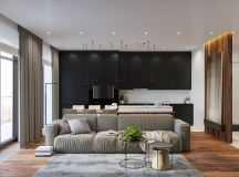 Rustic Beauty in an Inner-City Apartment images 0