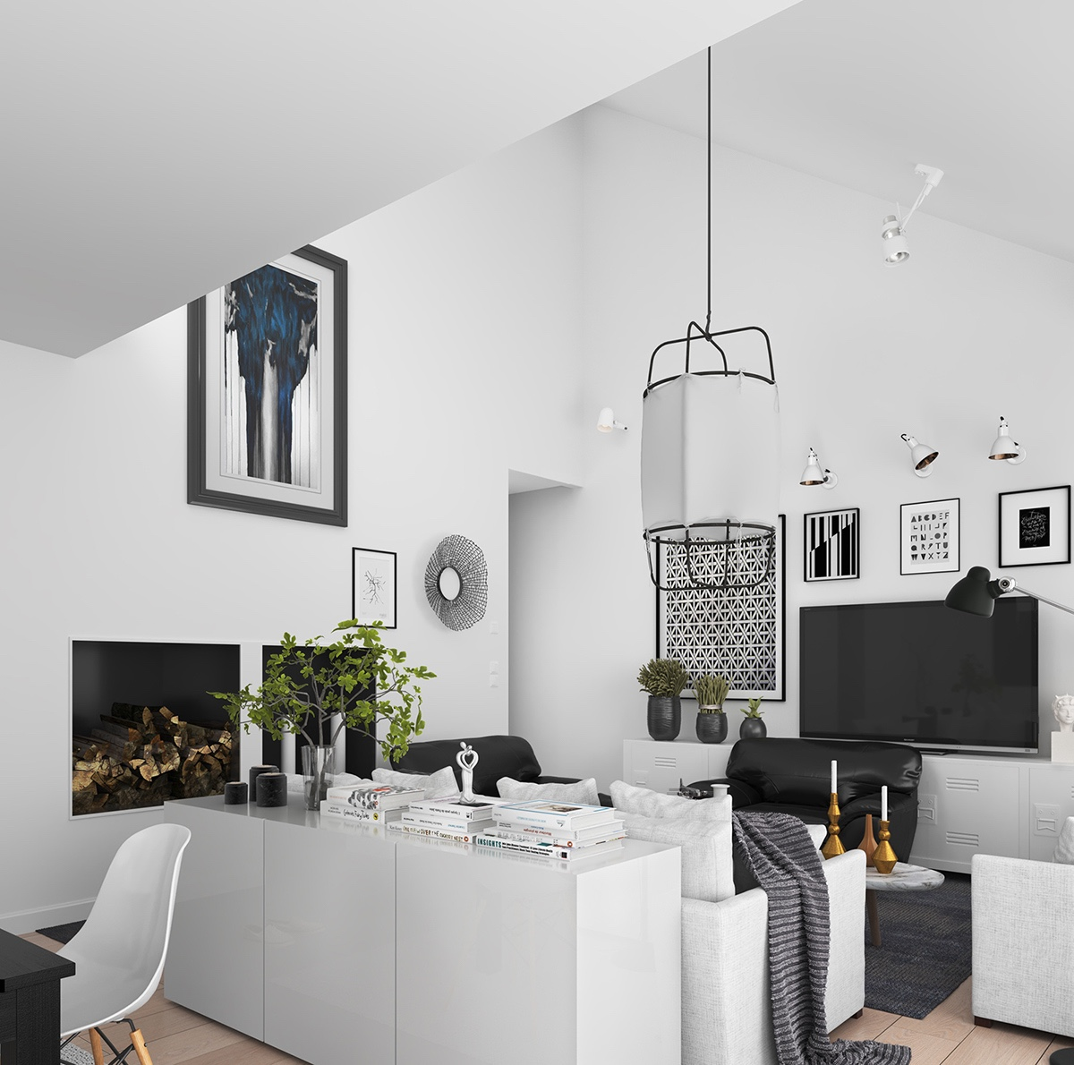 two chair dining table accent and ottoman 5 simple achievable scandinavian apartment designs