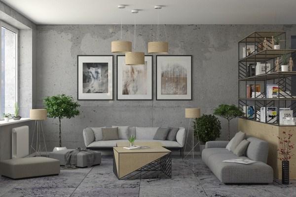 industrial design living room furniture 30 Living Rooms That Transcend Design Eras
