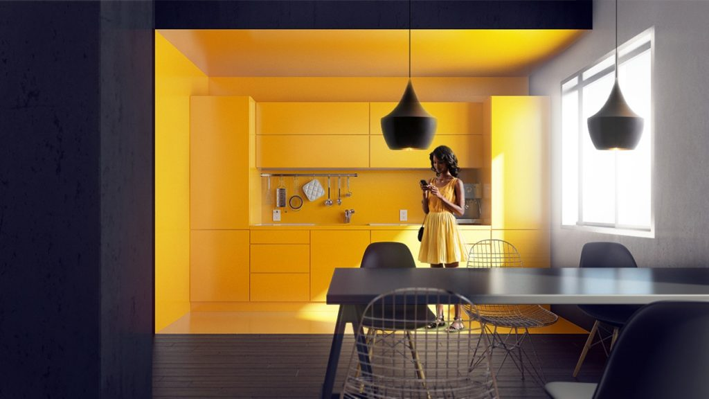 Black And White Wallpaper Decor Kitchen Designs Interior Design Ideas Part 2